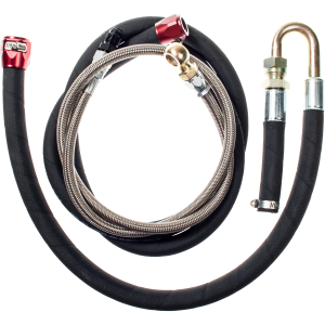 Power Steering Upgrade Kit - Black Hose, Red Hose Finishers