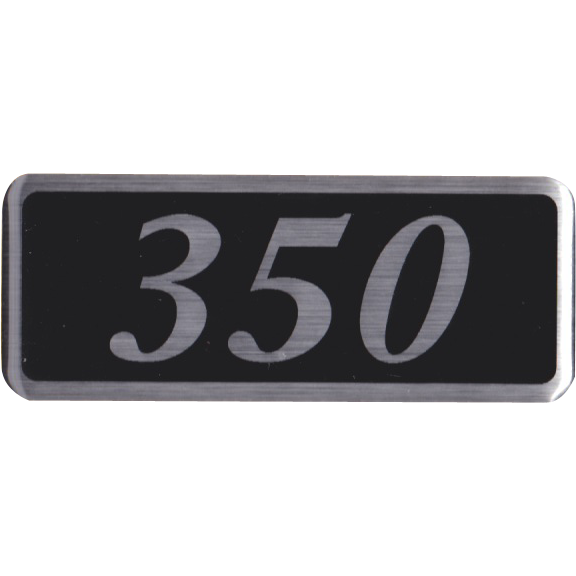350 Plenum Badge