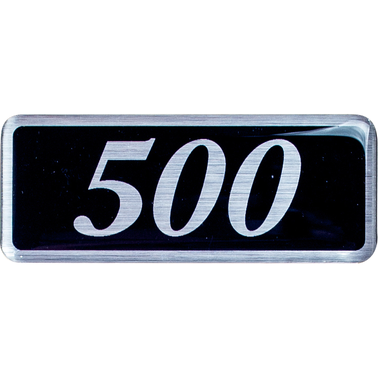 Plenum Badge - 500