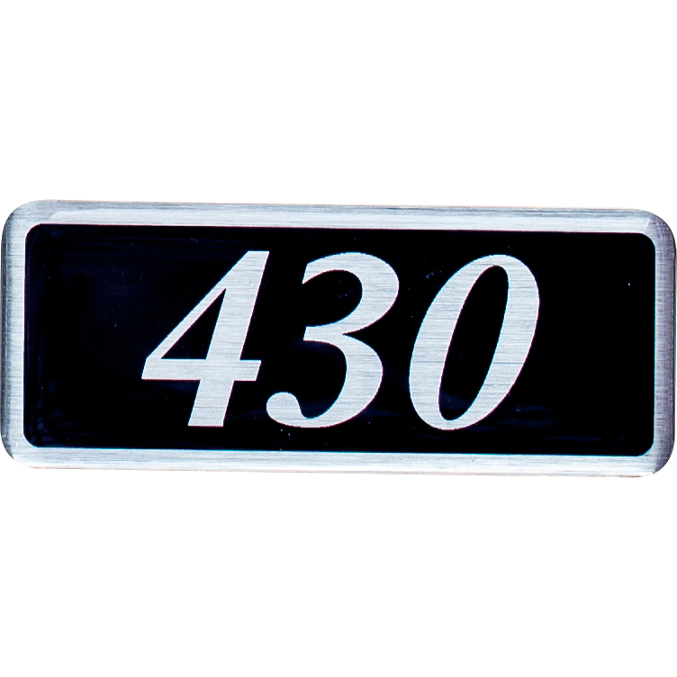 Plenum Badge - 430